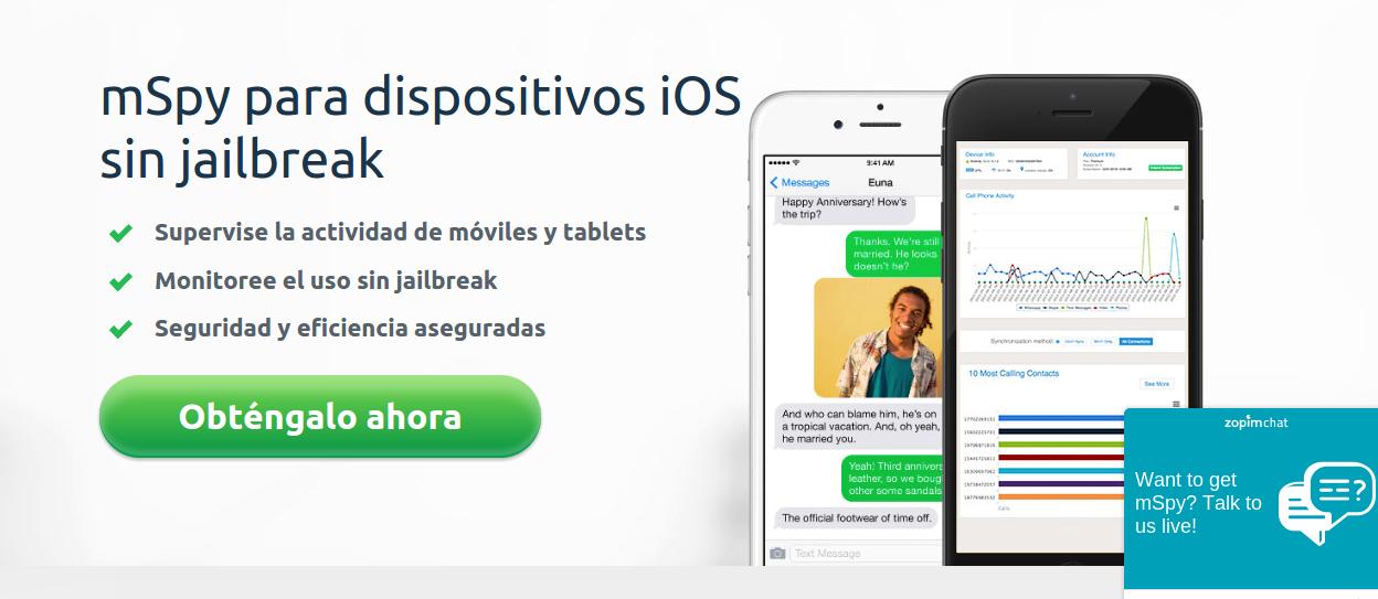 El mejor software espía para iPhone 5