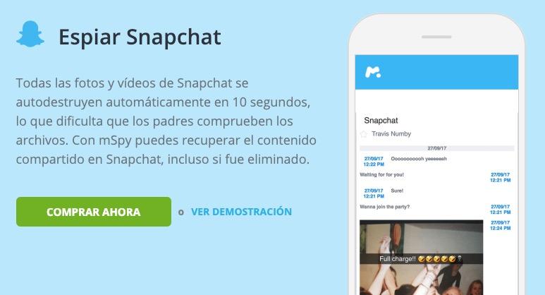 Espiar Snapchat