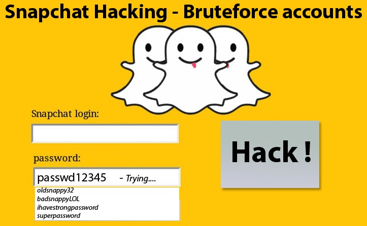 hackear snapchat